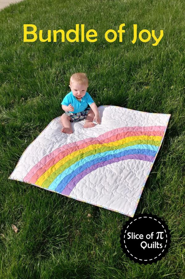 Bundle of Joy quilt sewing pattern from Slice of Pi Quilts