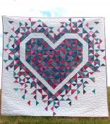 Exploding Heart quilt sewing pattern from Slice of Pi Quilts 2