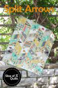 Split Arrows quilt sewing pattern from Slice of Pi Quilts