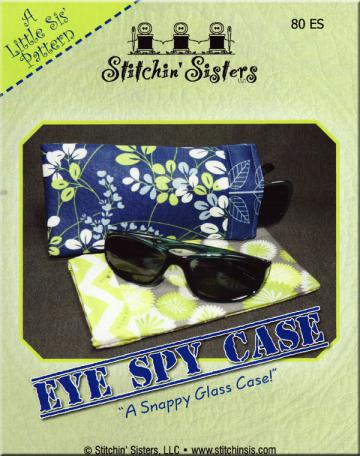Eye Spy Case sewing pattern from Stitchin Sisters