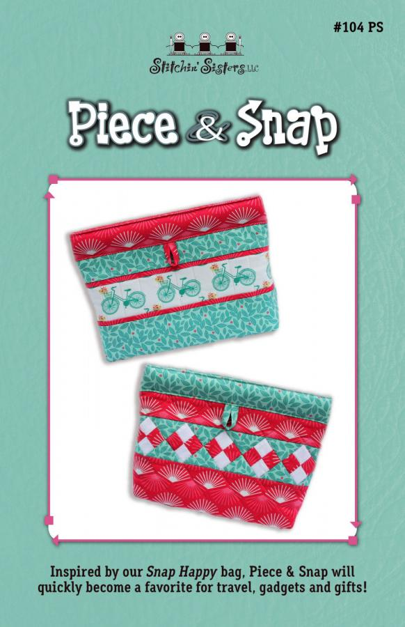 Piece & Snap sewing pattern from Stitchin Sisters