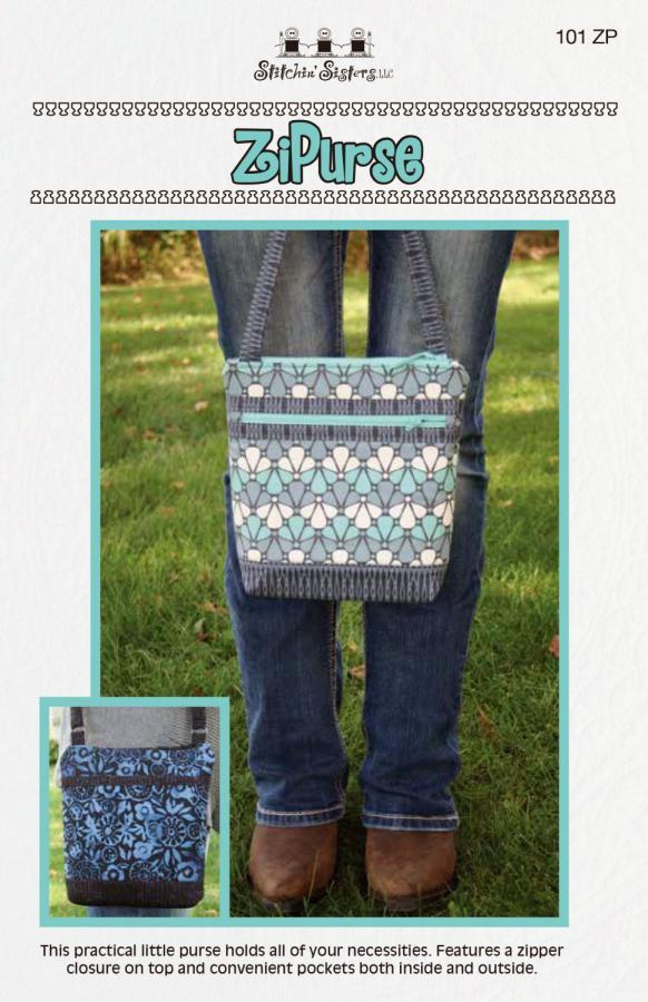 Zi Purse sewing pattern from Stitchin Sisters
