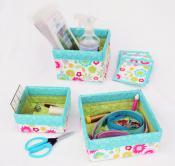 Box It Up II sewing pattern from Stitchin Sisters 2