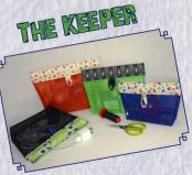 The Keeper sewing pattern from Stitchin Sisters 2