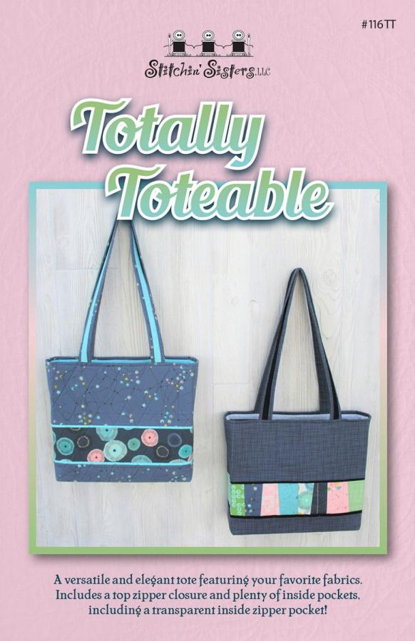 Totally Toteable sewing pattern from Stitchin Sisters