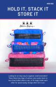 Hold It, Stack It, Store It sewing pattern from Stitchin Sisters