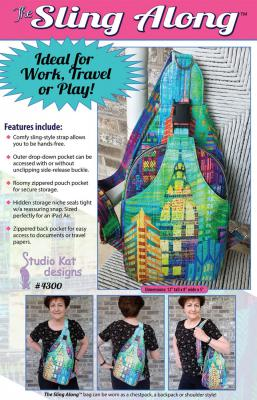 Sling Along Bag sewing pattern from Studio Kat Designs
