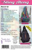Sling Along Bag sewing pattern from Studio Kat Designs 1