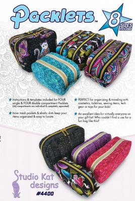 Packlets sewing pattern from Studio Kat Designs