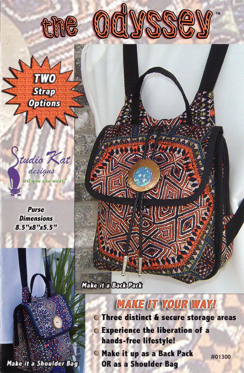 The Odyssey Bag Pattern from Studio Kat Designs e pattern from ...