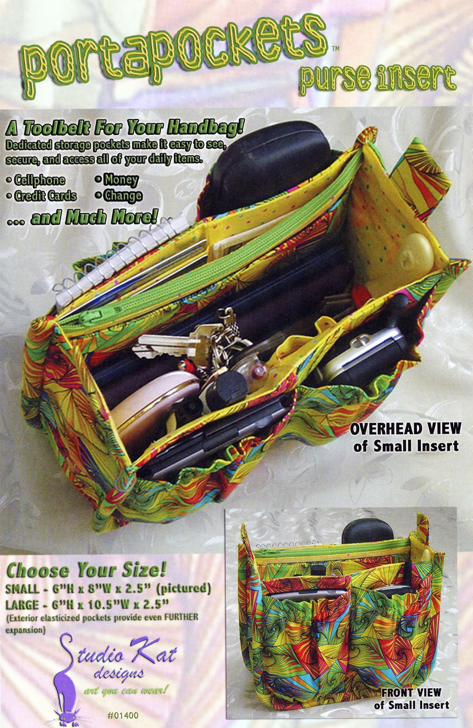 The-PortaPockets-bag-sewing-pattern-Studio-Kat-Designs-front