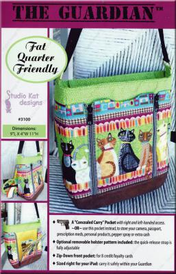 The Guardian concealed carry handbag sewing pattern from Studio Kat Designs