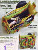 The Porta Pockets Purse Insert sewing pattern from Studio Kat Designs 2