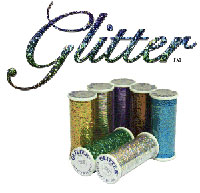 Superior Glitter sewing thread logo