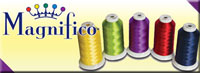Superior Magnifico polyester sewing thread logo