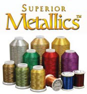 superior metallics sewing thread logo