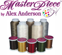Superior Masterpiece sewing thread logo