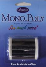 Superior MonoPoly Monofilament Polyester SMOKE 2200 yard spool