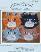 Allie Cats! Pot Holders or Mug Mats sewing pattern by Susie C. Shore Designs