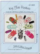 Key Fob Pockets sewing pattern by Susie C. Shore Designs