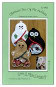 Christmas Trio of Pot Holders sewing pattern by Susie C. Shore Designs