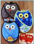 Who Owl Pot Holders sewing pattern by Susie C. Shore Designs 2