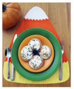 Candy Corn Pieces Placemats, Runners & Table Topper sewing pattern by Susie C. Shore Designs 4