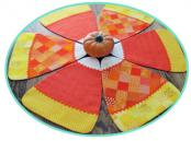 Candy Corn Pieces Placemats, Runners & Table Topper sewing pattern by Susie C. Shore Designs 5