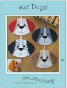 Hot Dogs! hot pads sewing pattern by Susie C. Shore Designs