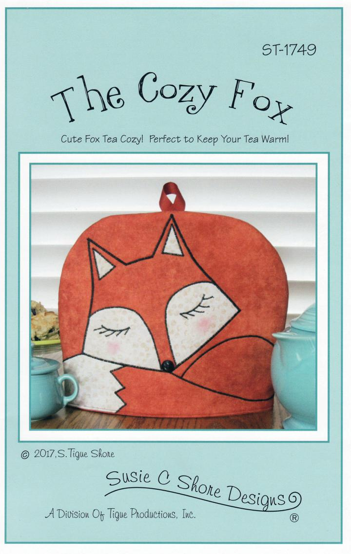 The Cozy Fox sewing pattern by Susie C. Shore Designs