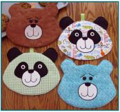 Amanda Panda and Bear sewing pattern by Susie C. Shore Designs 2