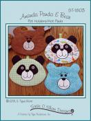 Amanda Panda and Bear sewing pattern by Susie C. Shore Designs