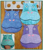 Feed Happy The Hippo sewing pattern by Susie C. Shore Designs 2