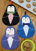 Tux hot pads sewing pattern by Susie C. Shore Designs 2