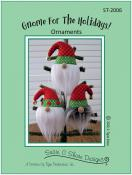 INVENTORY REDUCTION...Gnome for the Holidays ornaments sewing pattern by Susie C. Shore Designs