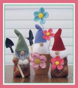 Gardening Gnomes sewing pattern by Susie C. Shore Designs 2