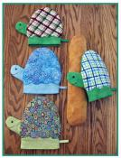 Myrtle The Turtle Pot Holder sewing pattern by Susie C. Shore Designs 2