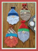 Two Tooo Cute Gnomes Hot Pads sewing pattern by Susie C. Shore Designs 2