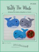 Wally The Whale Pot Holders sewing pattern by Susie C. Shore Designs