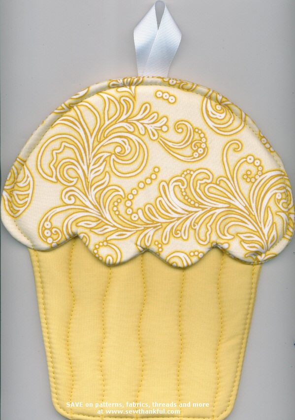 On Special Hot Cakes Cupcake Oven Mitts Pattern By Susie