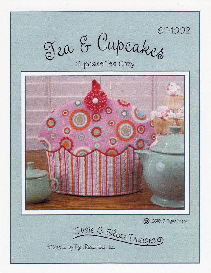Tea & Cupcakes sewing pattern from Susie C. Shore Designs