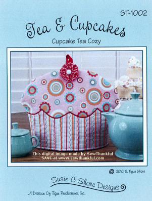 Tea and Cupcakes Tea Cozy Pattern