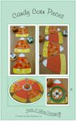 CLOSEOUT...Candy Corn Pieces Placemats, Runners & Table Topper sewing pattern by Susie C. Shore Designs