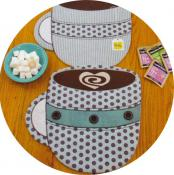 INVENTORY REDUCTION...Fill 'Er Up! Place Mats, Table Runners or Table Topper sewing pattern by Susie C. Shore Designs 3