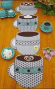 INVENTORY REDUCTION...Fill 'Er Up! Place Mats, Table Runners or Table Topper sewing pattern by Susie C. Shore Designs 1