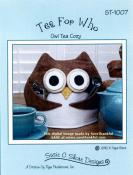 Tea for Who tea cozy pattern by Susie C. Shore Designs