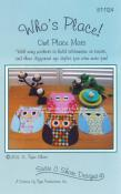 Who's Place! Place Mat sewing pattern by Susie C. Shore Designs