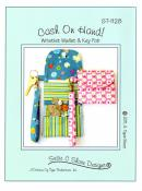 Cash on Hand Wristlet Wallet & Key Fob sewing pattern by Susie C. Shore Designs