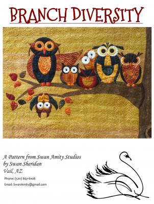 Branch-Diversity-quilt-sewing-pattern-Swan-Amity-Studios-Front