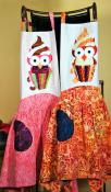 CLOSEOUT...Whooo's Cooking apron sewing pattern from Swan Amity Studios 2